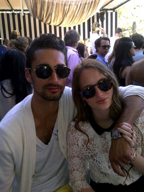 Hugo Taylor and Rosie Fortescue