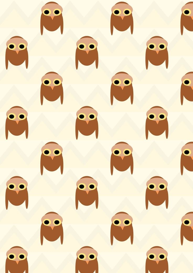 FREE digital owl pattern paper
