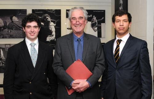 Erasmus Essay Prize and Edgar Jones Philosophy Prize! Benji Woolf won first prize of £500 in the Erasmus Essay Competition (in open competition with pupils from Winchester College, Bancroft's School, Dulwich College, City of London School, Rugby School and Wycombe Abbey) for his essay on 'Consciousness and the Brain'. Read more about news from Charterhouse-one of UK boarding schools! http://www.charterhouse.org.uk/Erasmus-Essay-Prize-1