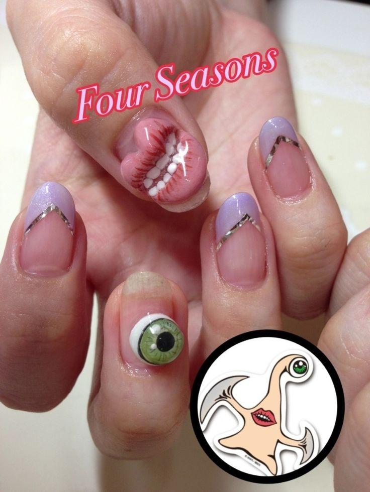 お客様ネイル|ネイルサロン Four Seasonsのブログ♡