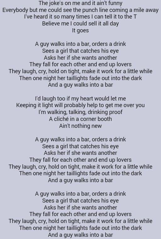 Tyler Farr - A Guy Walks Into a Bar - YouTube