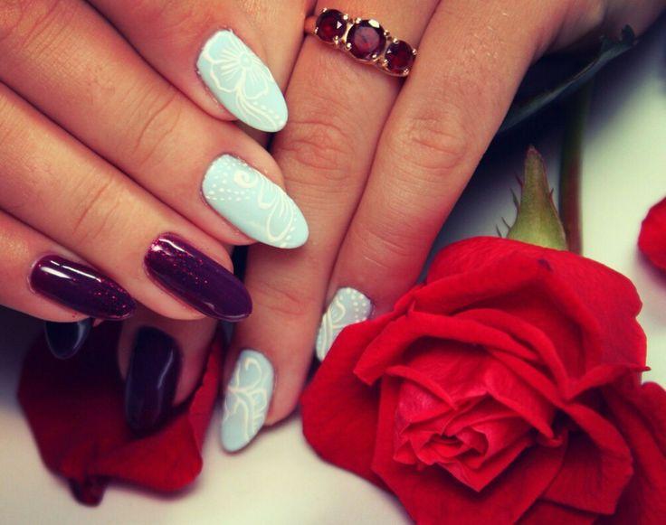 #Nail art#mehendi#manicure