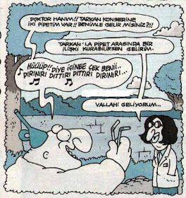 Komik Karikatürler: Hunili Tarkan Konserine İki Pipetim Var