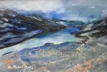 """Saatchi Art Artist Agata Padol; Painting, """"North Cape 6"""" #art"""