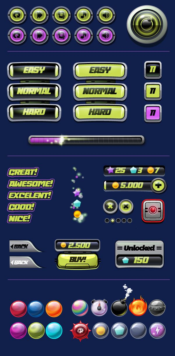 Bubble Shooter . Mobile Game on Behance