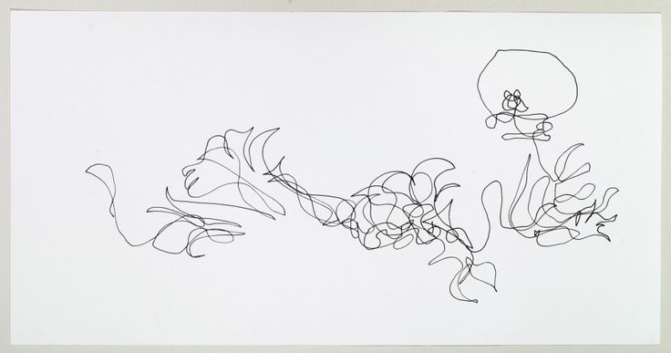 Lorenzo Nassimbeni St.Joseph's Lily 3 2010 Indian Ink on paper_ (30)