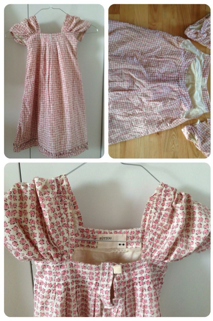 Sommer bluse til pige kjole