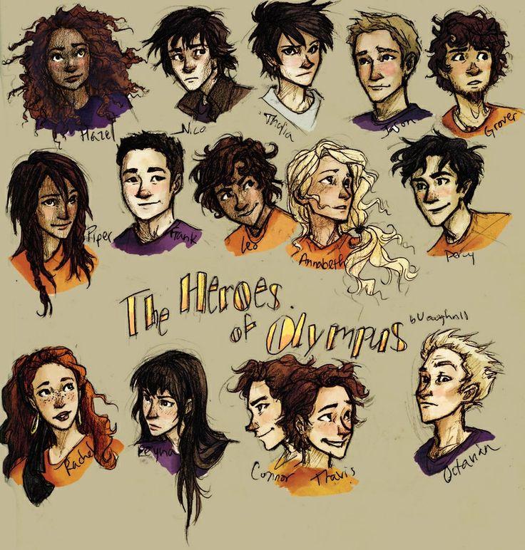 The Heroes of Olimpus