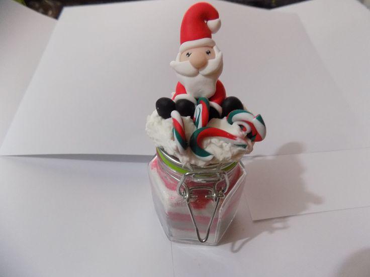 petit bocal verre dcor sable color nol accessoires fausse noel boutique lesfantaisiesdekarine lesfantaisiesdekarine shop - Sable Colore
