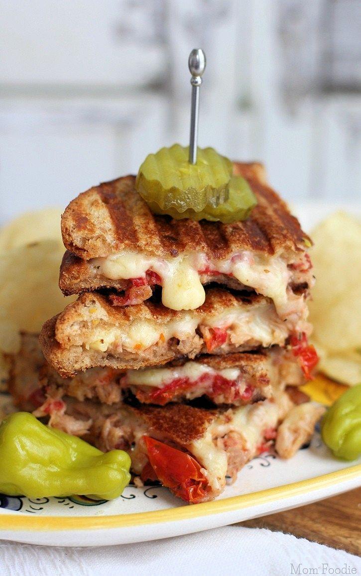 Gourmet Tuna Melt Sandwich