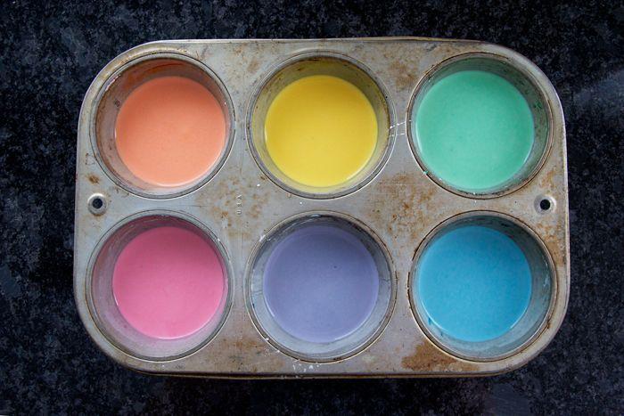 Homemade sidewalk paint- washable, three ingredients