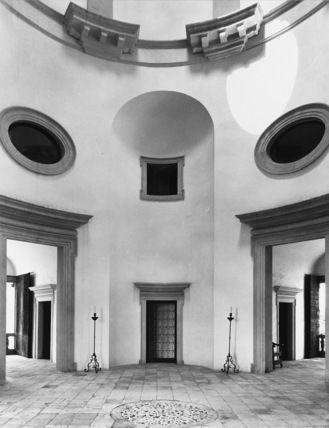 Covered coutyard: Vincenzo Scamozzi, villa Pisani a Lonigo
