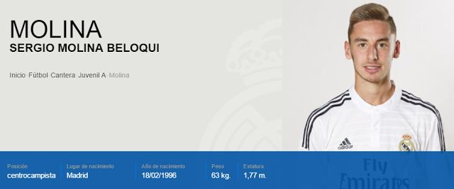 UN CANTERANO DEL REAL MADRID NUEVO JUGADOR DEL ALBA   Albacete Balompié Fichajes 2016/2017 Fútbol Noticias Albacete Noticias deportes Pretemporada 2016/17 Sergio Molina