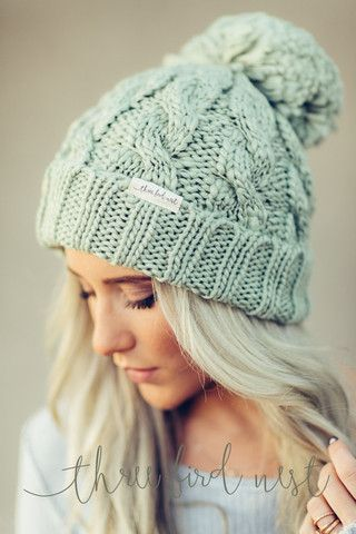 Fireside Pom Pom Beanie by Three Bird Nest   Bohemian Clothing