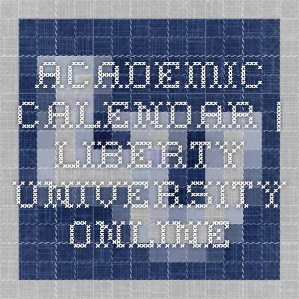 Academic Calendar | Liberty University Online