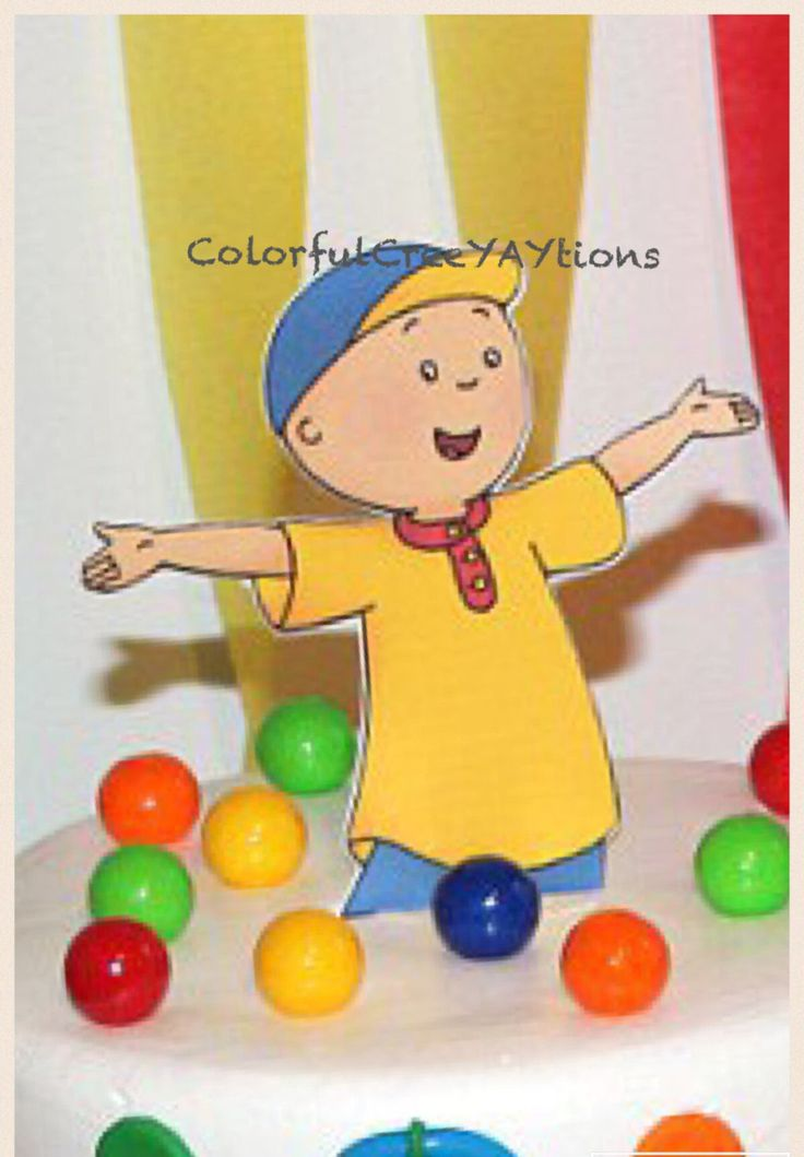 Best 25 Caillou cake ideas on Pinterest Caillou Caillou doll