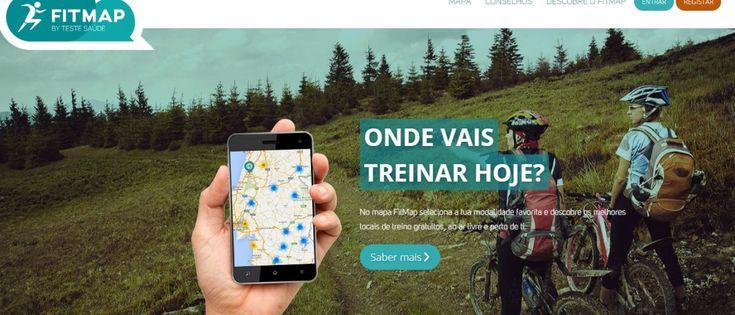 FITMAP  Conheça a Aplicação Que É Um Mapa Online Para Desportistas - Corre Salta e Lança