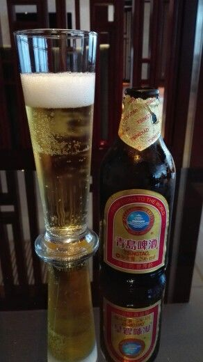 TsingTao beer in Shanghai, China