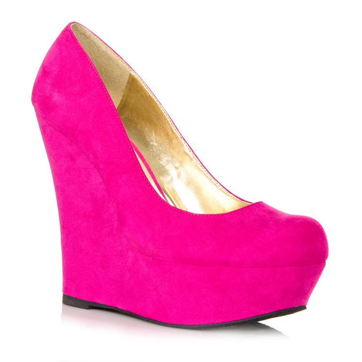 fuchsia. Got these in Neon pink at Khols! http://www.kohls.com/kohlsStore/landingpages/elle/shoes/PRD~1087651/ELLE+Platform+Wedges.jsp