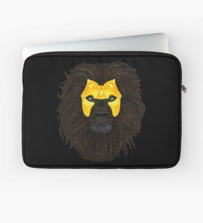 Golden Lion Laptop Sleeve