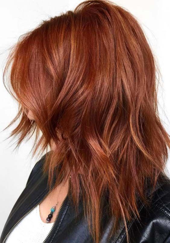 42 Stunning Deep Copper Hair Color Ideas for 2018 | Hair ...