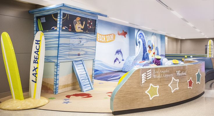 Los Angeles airport gets beach-themed kids' play area(Photo: Los Angeles World Airports)