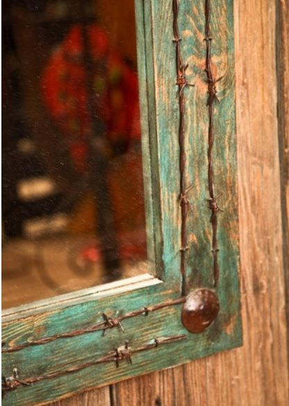 turquoise home accessories decor | Western Home Accessories, Country Rustic Decor...for my spare bedroom