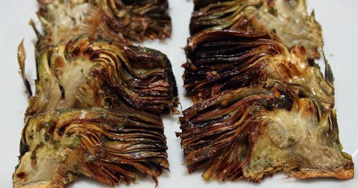 Un pellizco de canela: Alcachofas a la plancha