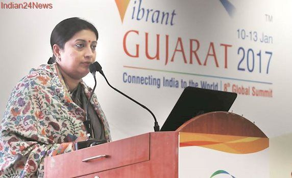 GST one of the shining examples of cooperative federalism: Smriti Irani
