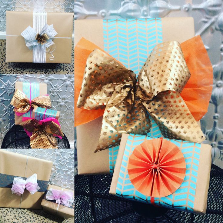 Gorgeous complimentary gift wrapping in store. #handmadebows #colorful #lovewrapping #quinceyjac