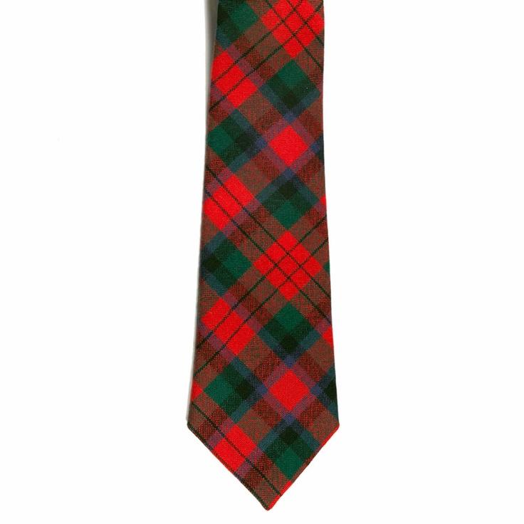 MacDuff Tartan Tie from Gretna Green #TartanTie #PlaidTie