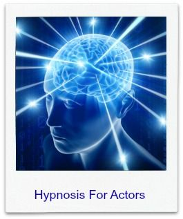 If you haven't ever tried any form of hypnosis there is a free download to try on this page...scroll down, you'll find it and soon discover how easy it is to do. It is very very effective for actors. I use it all the time. Nick