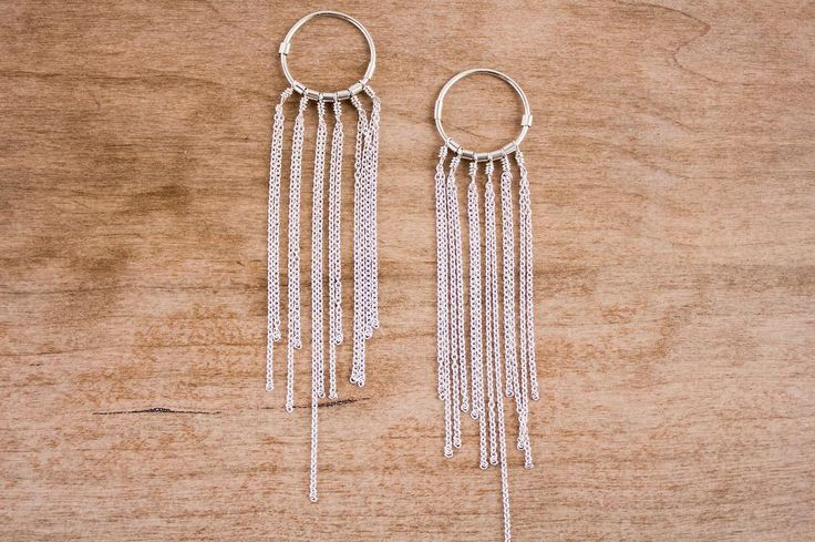 Serious festival vibes from these gorgeous fringe earrings✌️