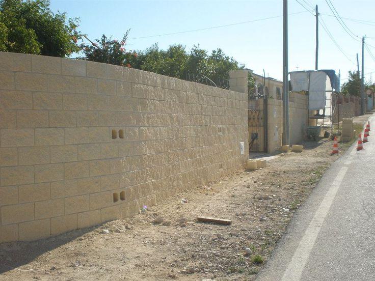 #Acondicionamiento de vallado a causa de la riada ocurrida en 2009. (Proceso).
