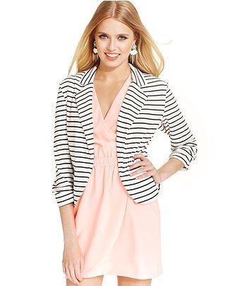 80 best Striped blazer combines images on Pinterest