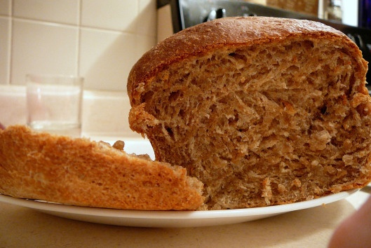 honey whole wheat bread | bon appetit | Pinterest