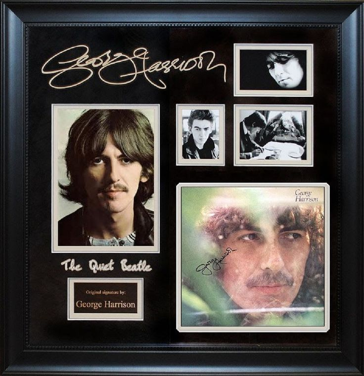 George Harrison - Signed Album LP Custom Framed