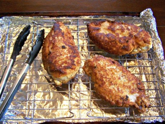 O Taste and See Parmesan Crusted Chicken with Bacon - O Taste and See