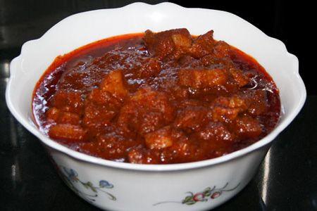 #maiale #vindalho #cucina #indiana #ricetta #ricette #cucinare #casa #cena #pranzo  www.dolci-idee.it