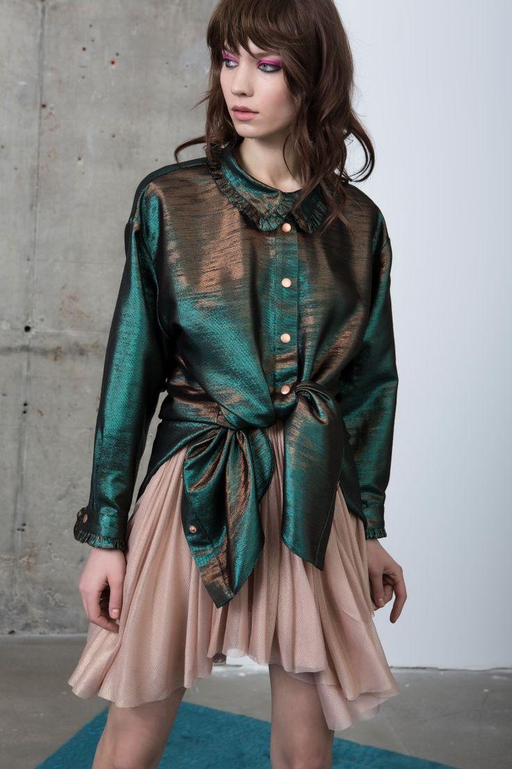 TALA shirt + FRANNIE skirt
