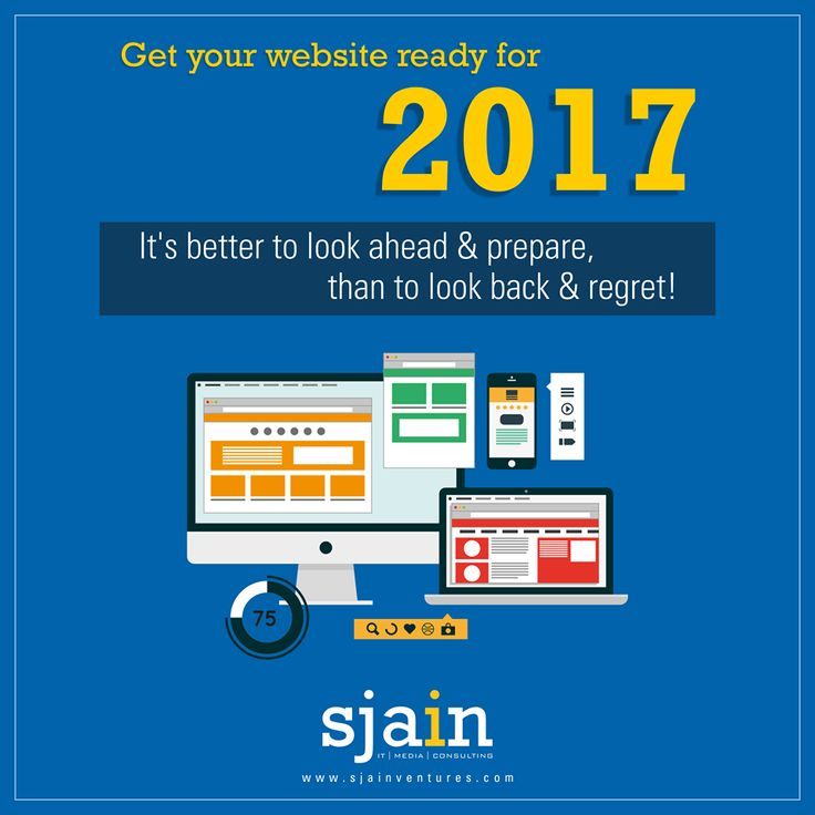 Are you prepared for the #NewYear? We will make your website ready for 2017 and help your #business stay competitive in your industry! #SjainVentures #WebDevelopment #WebDesign #DigitalMarketing