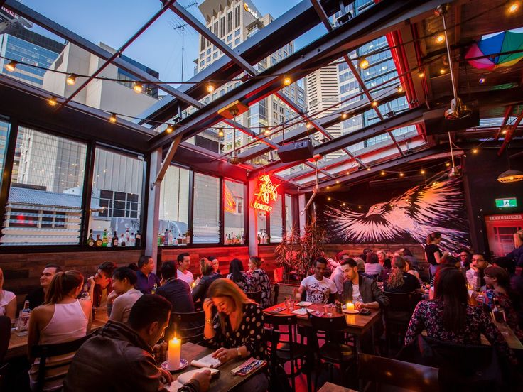 Rooftop bars are all about the big reveal. You go into a plain foyer, like so many other uninspiring entranceways to the city's workspaces; you press the