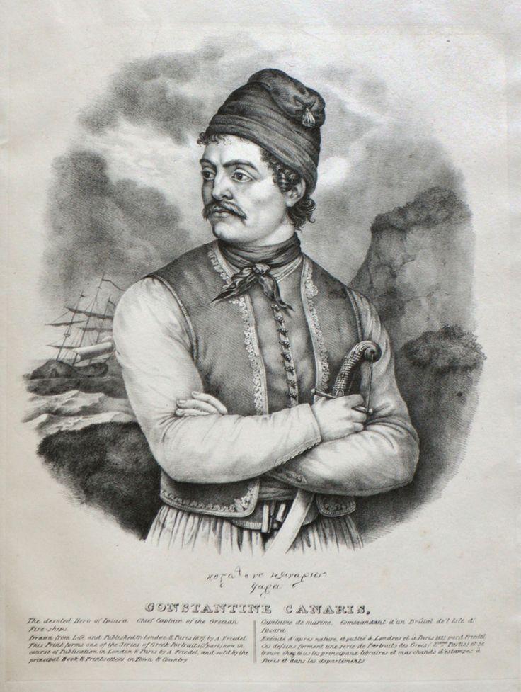 Adam Friedel (1766-1836)-Constantine Kanaris