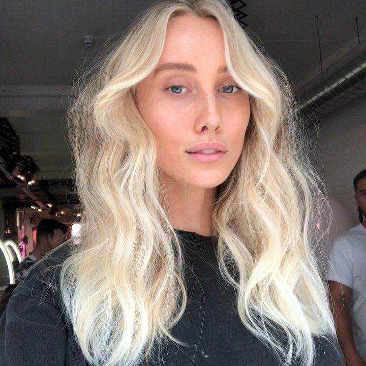 G A B I Seriously In Love With This Scandinavian Blonde I Did For Australian Beauty Sullivang Perfect Blonde Hair Blonde Hair Perfect Blonde