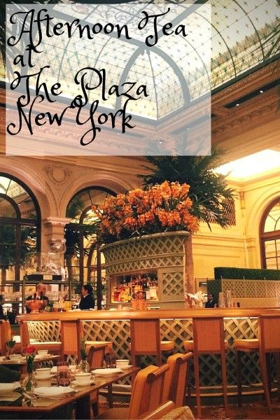 Review of Afternoon Tea at The Plaza New York