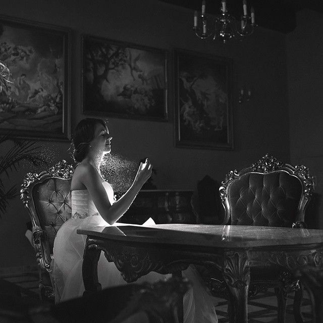 #wedding #photo #bride #portrait #blackandwhite