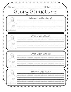 Story Structure Graphic Organizers   We Are the Wallflowers!   Pinter ...