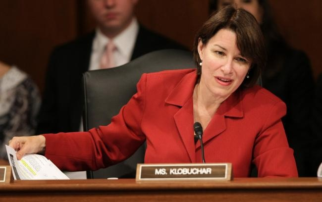 Amy Klobuchar.  One of the smartest people in Washington today.  Smart. Well spoken.  Normal.  Cares.