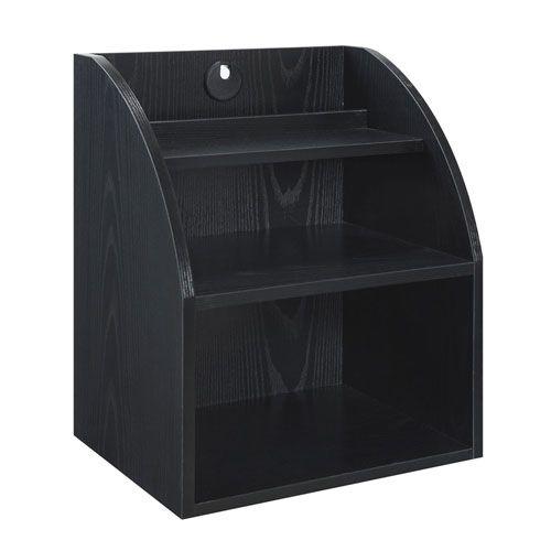 Designs2Go Black Desktop Organizer