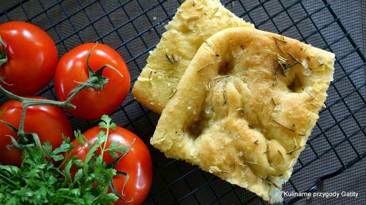 Schiacciata, toskański chlebek